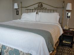 King Bed - quite comfortable!