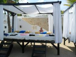 Our cabana bed for 4