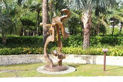 Sculpture at Ritz Carlton - Key Biscayne