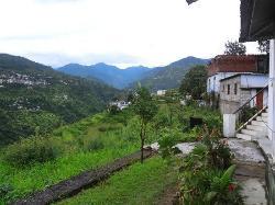 GMVN Tourist Guest House Ukhimath overlooking the Guptkashi valley