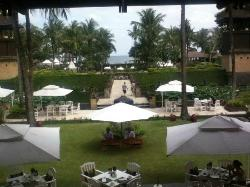View fro the Lobby