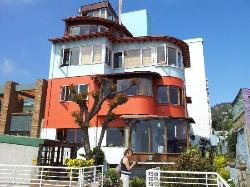 La Sebastiana ( Pablo Neruda's huis)