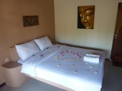 Slaapkamer 2-persoons lodge