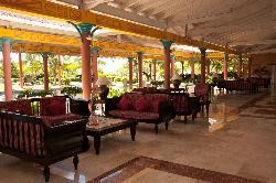 Very clean lobby area