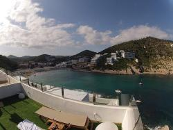 Superb views from jacuzzi rooms!