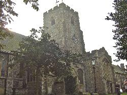 ‪Church of St Mary and St Eanswythe‬