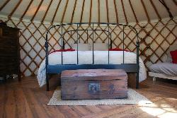 Cloud House Farm Yurt Holidays
