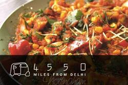 4550 miles from Delhi