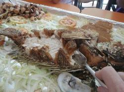 Whole fried fish - amazing!