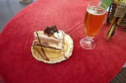 La torta allo champagne