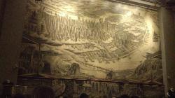 Inside mural at John's