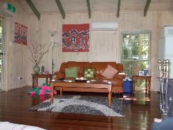lounge area of the escape