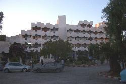 Façade de l'hôtel Chelia