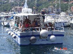 Le bateau : LE CYANA-BORA