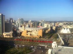 view from room of Petco park