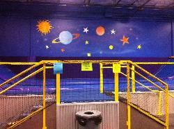 Cosmic Jump Trampoline Entertainment Center