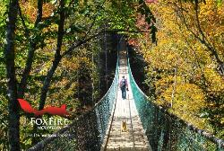 ‪Foxfire Mountain Swinging Bridge‬