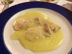 veal with white wine sauce