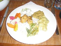 Dinner selection