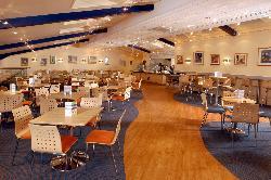 Shapes Restaurant at Aldiss