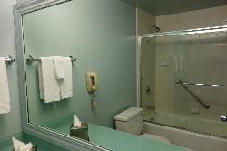 Clean Retro Bathroom