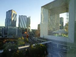 View of Grand Arche from room