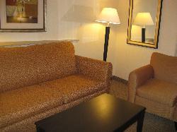 Comfort Suites Indianapolis sitting area