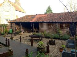pretty courtyard