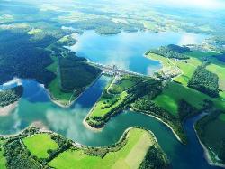 The Eau d'Heure Lakes