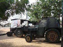 Hand made LTTE vehicles