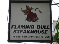 ‪Flaming Bull Steak House‬
