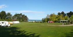 新西兰摩拉基大圆石露营地