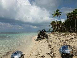 Roatan Sand Blasters Dune Buggy Tour