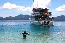 Restorf Island in Kimbe Bay, PNG