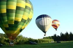 供托斯卡納熱氣球之旅