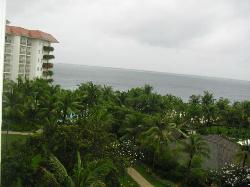 vista dal nostra balcony a sinestra