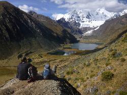 Cordillera Huayhuash with Los Amigos de Huayhuash