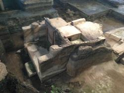 one of the buildings discovered