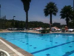 piscine et sun deck