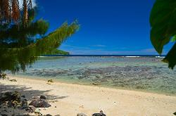 Beach at American Samoa