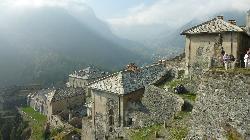 Blick auf den unteren Teil der Festung