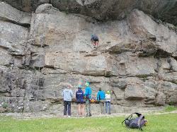 Hesså climbing wall