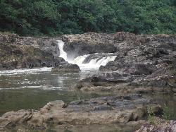 Vaca Falls - on the property