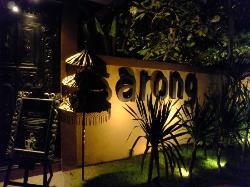 Sarong entrance