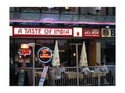 A Taste Of India Restaurant