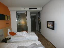the double room, viewed from the window side