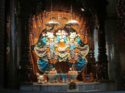 ISKCON Baroda, Sri Sri Radha Shyamasundar Mandir Temple