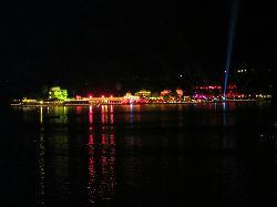 Lake Pichola  palaces night view