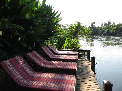 Chairs at the River Kwai