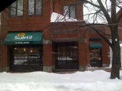 Restaurant Le Subtil